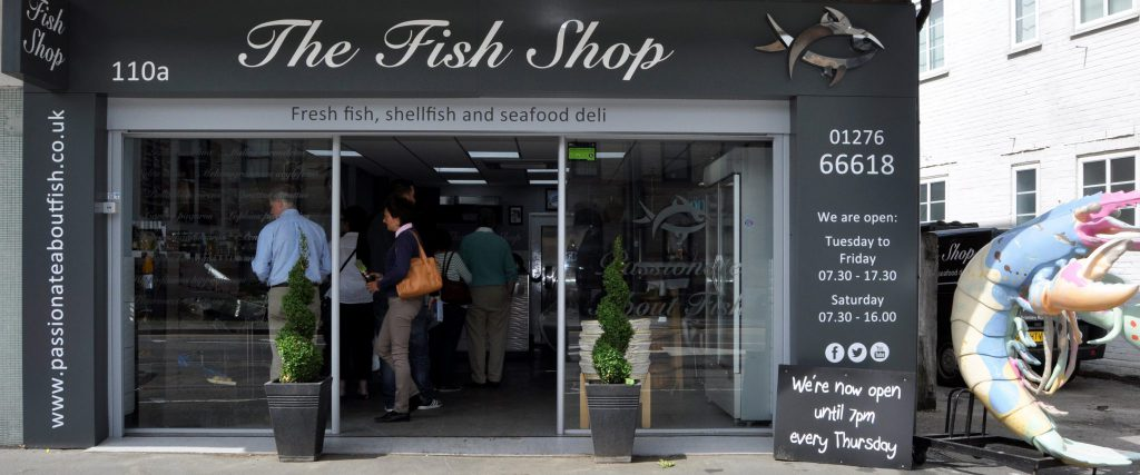 About us passionate about fish the fish shop camberley for The fish shop
